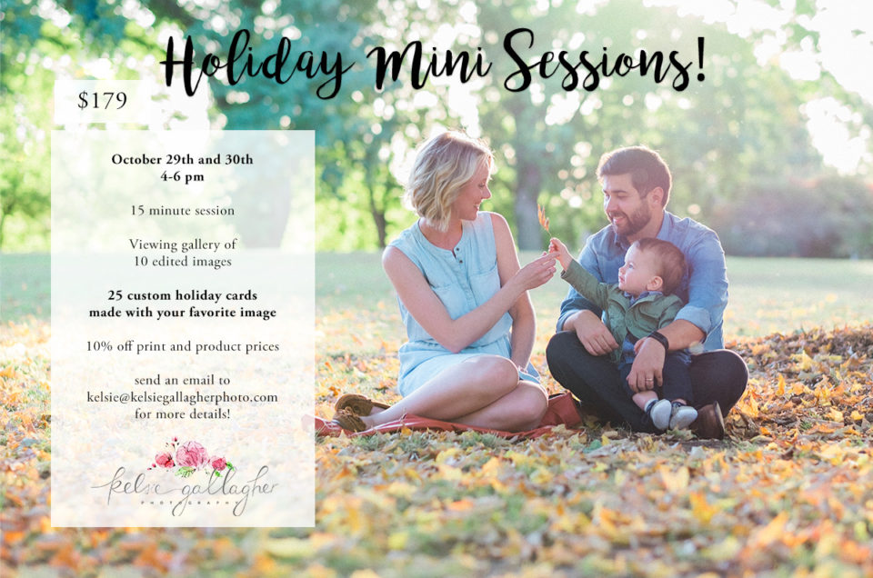 Holiday Mini Sessions | Portland Family Photographer